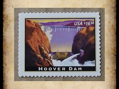 US Stamps Scott 4269 Hoover Dam Express Mail $16.50 Single Stamp MNH