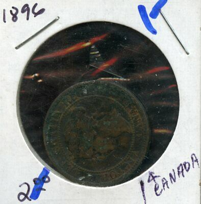 1896 Canada Large Cent Canadian Coin FP927