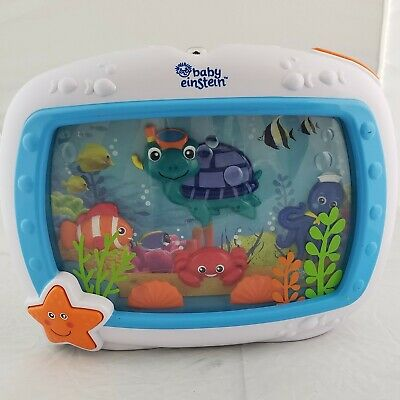 Baby Einstein Sea Dreams Soother Musical Crib Toy and Sound W/ Remote