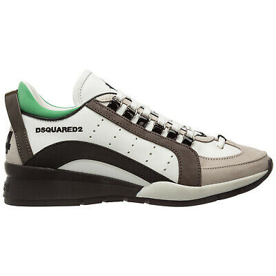 DSQUARED2 551 BASKETS Snm0404 M1420 Cuir Homme Dsquared