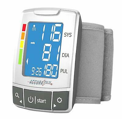 Automatic Digital Wrist Blood Pressure LCD Blood Monitor With Large LCD Display