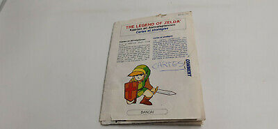 Carte du jeu Nintendo Nes The Legend of Zelda