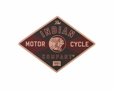 Indian Motorcycle Logo Leather Patch