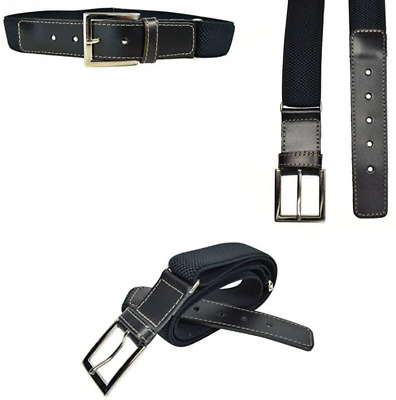 Junior / Childrens 5-15 Years Adjustable Elasticated Belt With Buckle / Leather