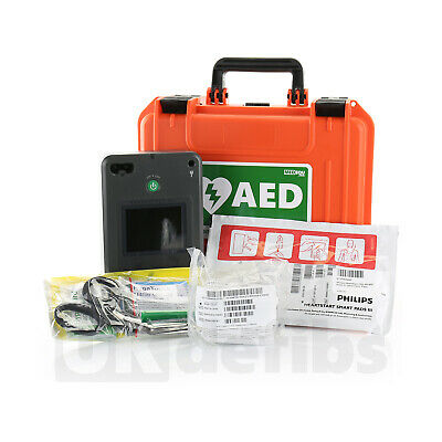 Philips Heartstart MRx Monitor M3535A w Therapy Lead ECG Pacing PSU Printer 2008