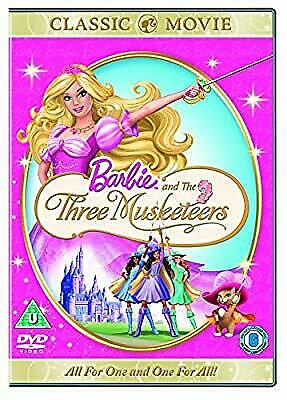 Barbie and the Three Musketeers [DVD] [2017], , Used; Very Good DVD