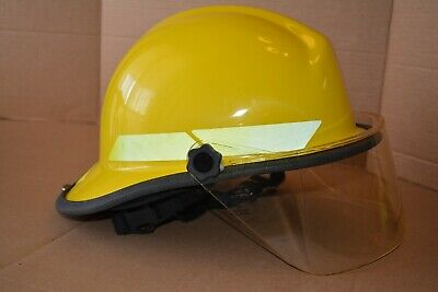Bullard PX Series Firedome Helmet Yellow Fire Fighting Firefighting Fighter R721