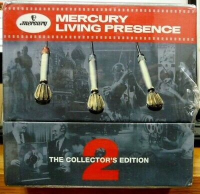 Mercury Living Presence Collector's Edition Vol. 2 (2013) (55-CD Box) New/Sealed