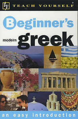 Teach Yourself Beginner's Greek (TYL) by Matsukas, Aristarhos, Good Used Book (P