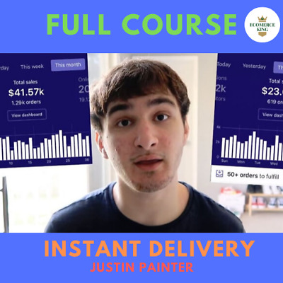 Dropshipping Mastery 2019 – Justin Painter - full course🔥 Instant Delivery 🔥
