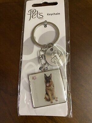 Dog Lovers Pets German Shepherd Dog Key Chain Ring
