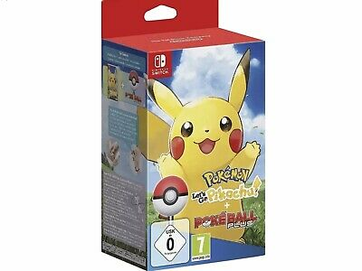 Nintendo Switch Pokemon Let's Go Pikachu POKEBALL PLUS OVP SEALED Schwert Schild
