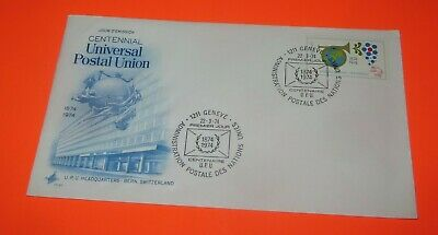 First Day Issue Centennial Universal Postal Union 1874-1974 Free**Shipping