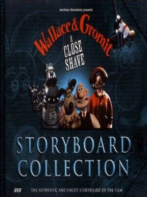 Wallace & Gromit: a close shave storyboard collection by Brian Sibley (Hardback)