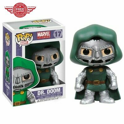 Funko POP Marvel Bobble Dr. Doom #17 Figure, Collectible Model Toy FREE SHIPPING