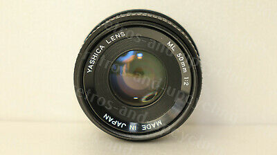 F431 Yashica Lens ML f2.0 50mm with yashica-contaxin mount verry good condition