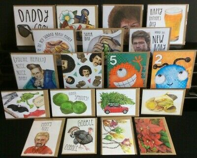 JOBLOT of 630 High Quality Greeting CARDS Birthday Baby Christmas Fathers Day IL
