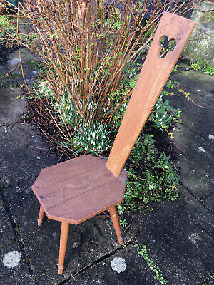 ORKNEY SPINNING CHAIR by D M KIRKNESS KIRKWELL ORKNEY dated 1964