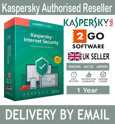 Kaspersky Internet Security 2020 1 3 5 10 Devices 1 Year License Key e-Delivery