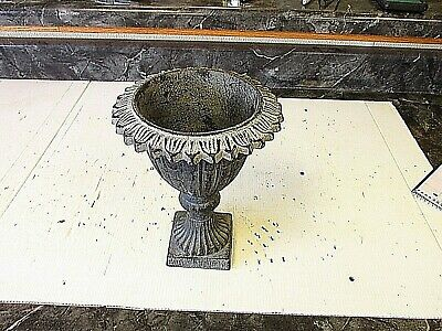Old Style Cast Iron  Planter Urn   Candle Holder
