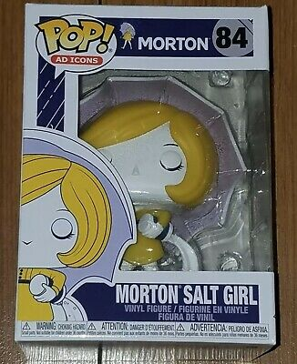 Funko Pop! NEW: Ad Icons #84 Morton Salt Girl In Hand Free Shipping