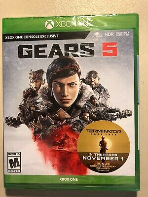 Gears 5 (Microsoft Xbox One, 2019) Factory Sealed