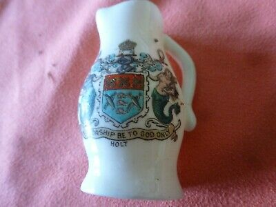 A Piece Of 'Goss' Crested China In The Form Of A Jack - Holt