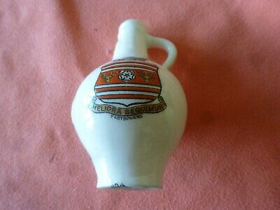 Piece Of 'Goss' Crested China In The Form Of An Ancient Billamice - Eastbourne
