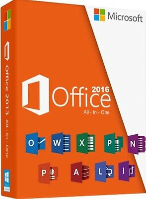 Fast key delivery MS OFFICE 2016 Professional plus 32/64 BIT