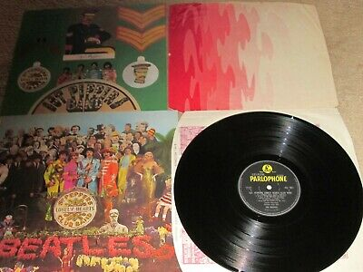 The Beatles - Sgt Peppers - Original Parlophone First Pressing - Lp Record