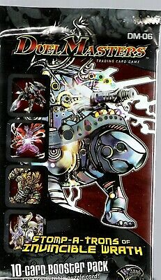 X1 Stomp-A-Trons of Wrath DM-06 Duel Masters Sealed Booster Pack English WOTC