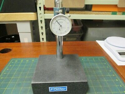 Machinist Tools * Granite Comparator * Fowler * With Teclock Indicator