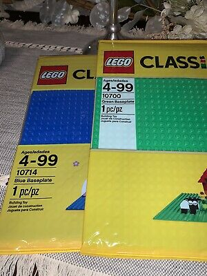LEGO Classic Green Baseplate 10x10-inches 32x32-studs for Brick Building NEW!