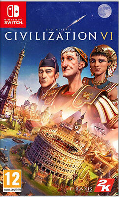 Sid Meier's Civilization VI (Switch)  NEW AND SEALED - QUICK DISPATCH - IMPORT