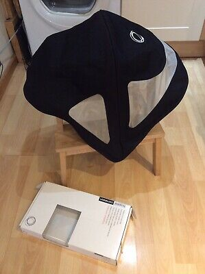 BUGABOO Cameleon 1,2,3 HOOD/ Breezy Canvas Canopy Fabric for Seat Unit Black Box