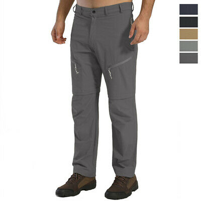 Detachable Men's Quick Drying Tactical Pants Lightweight Outdoor Pants 5-Pockets