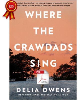 🌞 🌞 Where the Crawdads Sing by Delia Owens New York Times Bestseller 🌞