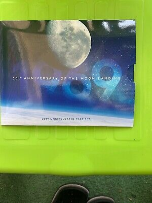 2019 Australia Uncirculated Mint 6 Coin Set - 50Th Anniversary Of Moon-Landing