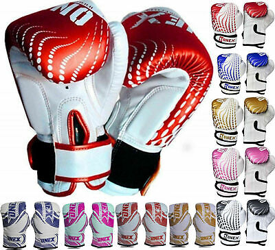 Boxing Kickboxing Muay Thai Training Rex Leather UFC Grappling Punching Bag Mitt