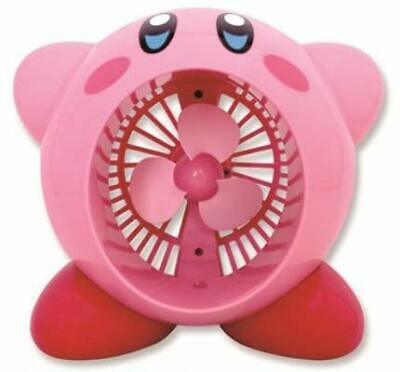 TAITO Kirby of the Stars USB type Tabletop Fan JAPAN OFFICIAL IMPORT