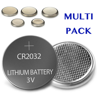 CR2032 BATTERY 2032 3V LITHIUM CELL Watch Coin Button Batteries Car Key Toy AU