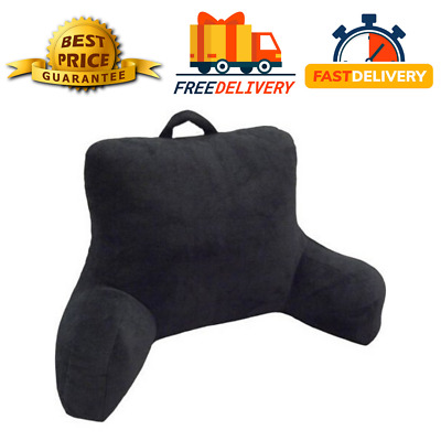 Bed Rest Back Pillow Arm Soft Cushion Support Chair TV Study Relax Reading WF