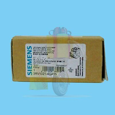 1PC New Siemens 3RV1021-4CA15 breaker one year warranty