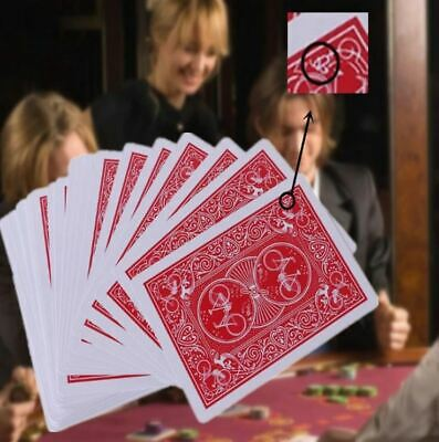 Secret Marked Poker Cards See Through Playing Cards Magic Toys Magic Tricks