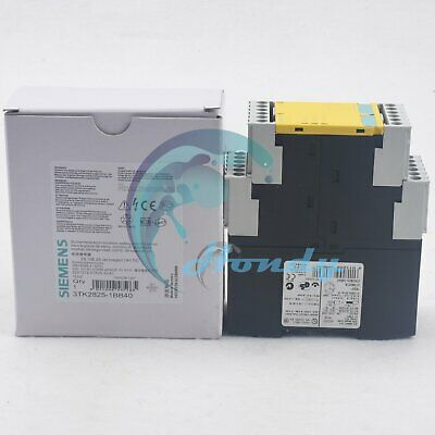 New in box 1pc Siemens Safety Relay 3TK2825-1BB40 One year warranty