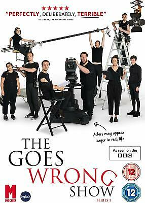 THE GOES WRONG SHOW Mini Serie TV Completa DVD in Inglese NEW .cp