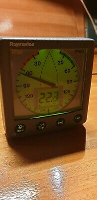 Raymarine ST60 Wind Display Unit E22012 mint condition tested and working perfec