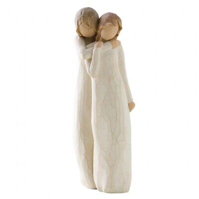 NEW Chrysalis Mother & Older Daughter Figurative Sculpture - Willow Tree