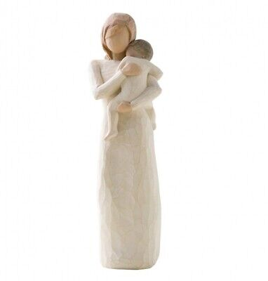 NEW Child Of My Heart, Mother & Child Figurative Sculpture - Willow Tree