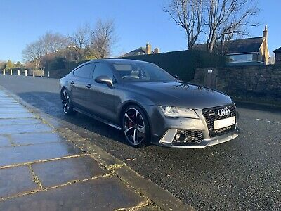 2012 AUDI A7 BiTDi QUATTRO SLINE TIPTRONIC RS7 CONVERSION REPLICA